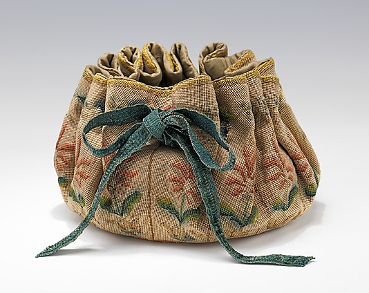 Gaming purse 17-18th century(2)